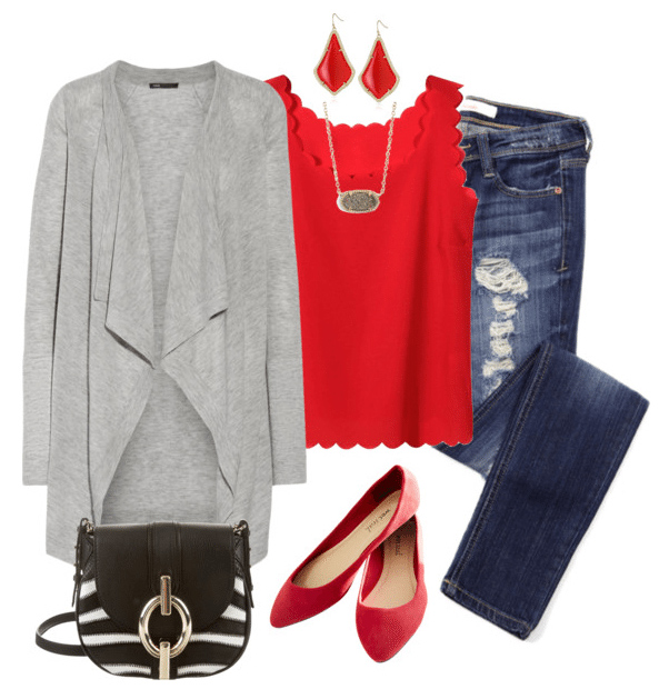 blue-navy-skinny-jeans-red-cami-earrings-necklace-red-shoe-flats-grayl-cardiganl-black-bag-howtowear-valentinesday-outfit-fall-winter-lunch.jpg
