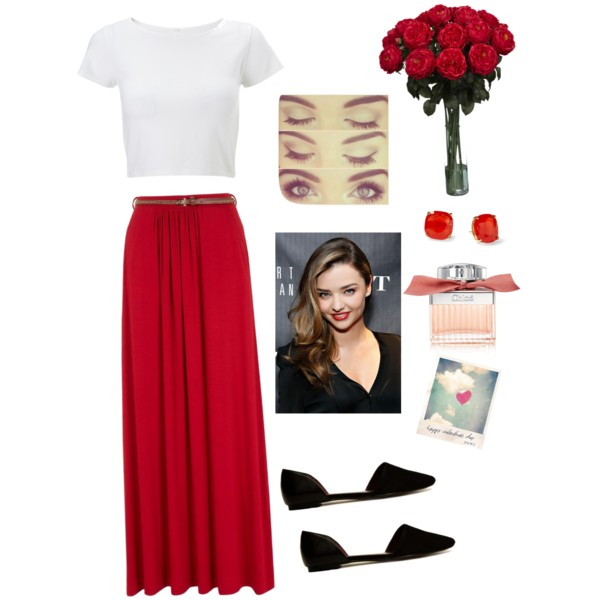 red-maxi-skirt-white-tee-black-shoe-flats-studs-hairr-howtowear-valentinesday-outfit-fall-winter-lunch.jpg