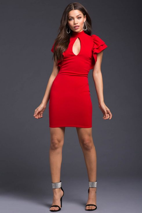 red-dress-bodycon-black-shoe-sandalh-earrings-brun-howtowear-valentinesday-outfit-fall-winter-dinner.jpg