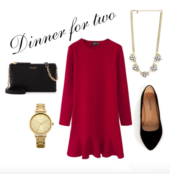 red-dress-mini-black-bag-bib-necklace-watch-black-shoe-pumps-howtowear-valentinesday-outfit-fall-winter-dinner.jpg