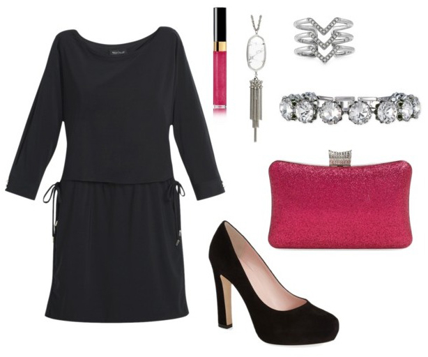 black-dress-mini-pink-bag-clutch-bracelet-ring-necklace-pend-black-shoe-pumps-howtowear-valentinesday-outfit-fall-winter-dinner.jpg