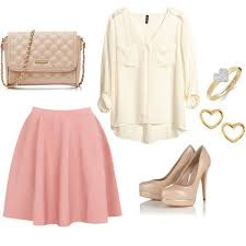 pink-light-mini-skirt-white-top-blouse-tan-shoe-pumps-tan-bag-howtowear-valentinesday-outfit-fall-winter-dinner.jpg