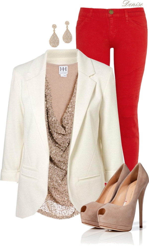 red-skinny-jeans-white-jacket-blazer-tan-shoe-pumps-tan-top-earrings-sequin-howtowear-valentinesday-outfit-fall-winter-dinner.jpg