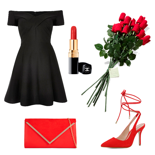 black-dress-mini-offshoulder-red-shoe-pumps-red-bag-howtowear-valentinesday-outfit-fall-winter-dinner.jpg