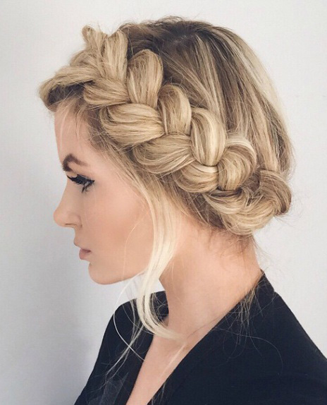 hair-styles-what-to-wear-valentines-day-dinner-holiday-outfits-winter-blonde-messy-milkmaid-braids.jpg