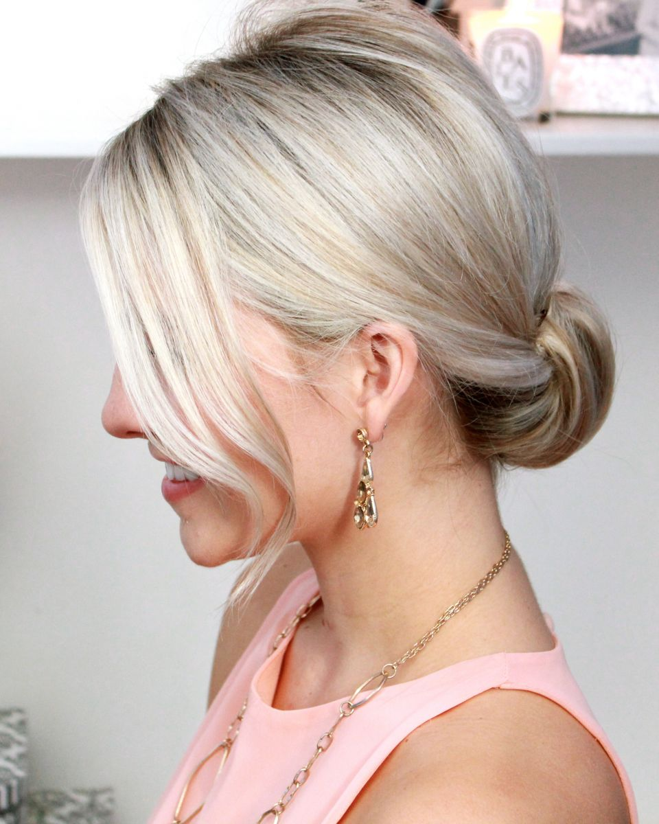 hair-styles-what-to-wear-valentines-day-dinner-holiday-outfits-winter-bun-low-neck.jpg