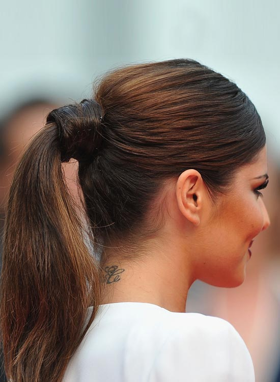 hair-styles-what-to-wear-valentines-day-dinner-holiday-outfits-winter-ponytail-hair-wrap.jpg