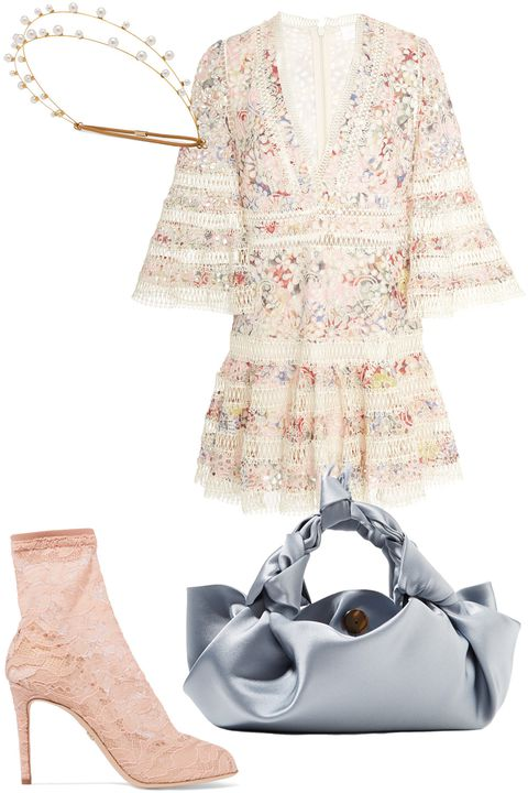 what-to-wear-for-a-spring-wedding-guest-outfit-white-dress-peasant-floral-print-blue-bag-pink-shoe-booties-lace-dinner.jpg