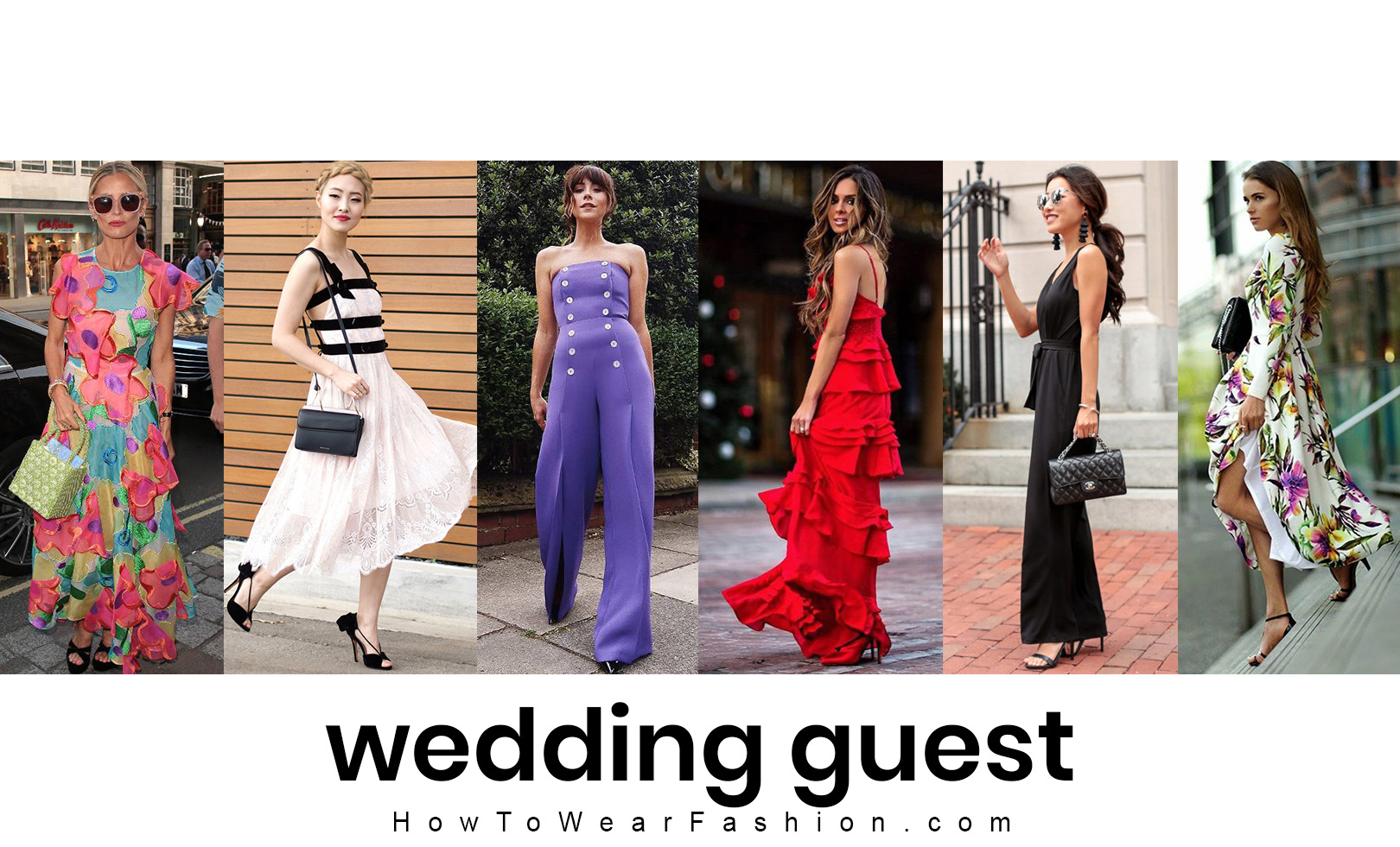 What to wear for a spring wedding! See all the wedding guest outfit ideas you need ...
