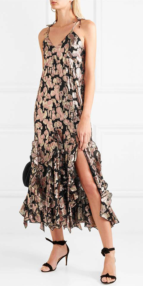 what-to-wear-for-a-fall-wedding-guest-outfit-autumn-tan-dress-gold-slip-midi-print-black-shoe-sandalh-dinner.jpg