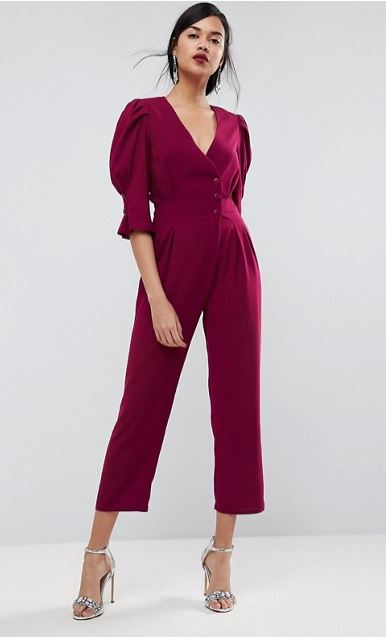 what-to-wear-for-a-winter-wedding-guest-outfit-burgundy-jumpsuit-brun-earrings-gray-shoe-sandalh-silver-dinner.jpg