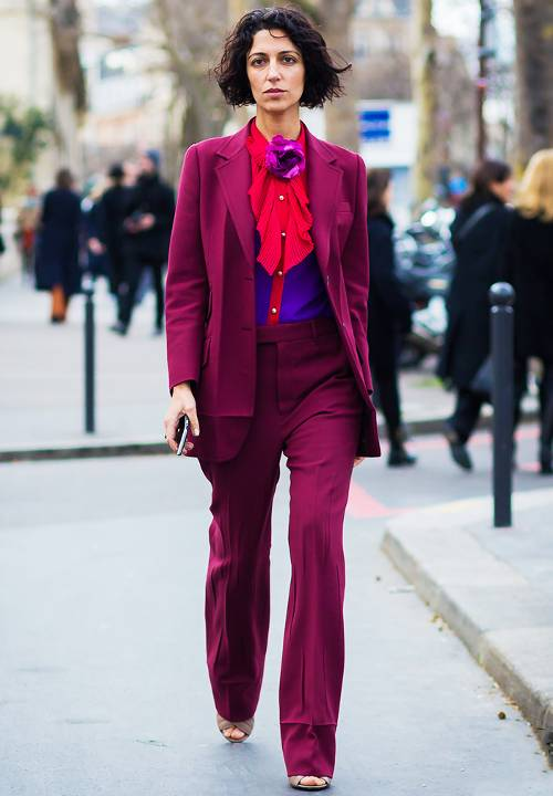 what-to-wear-for-a-winter-wedding-guest-outfit-pink-magenta-wideleg-pants-suit-pink-magenta-jacket-blazer-red-top-blouse-bob-dinner.jpg