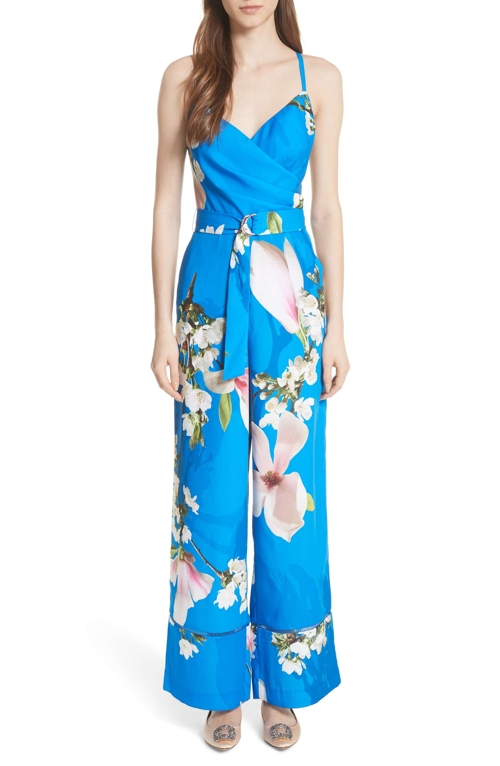 what-to-wear-for-a-spring-wedding-guest-outfit-blue-med-jumpsuit-floral-print-hairr-dinner.jpg