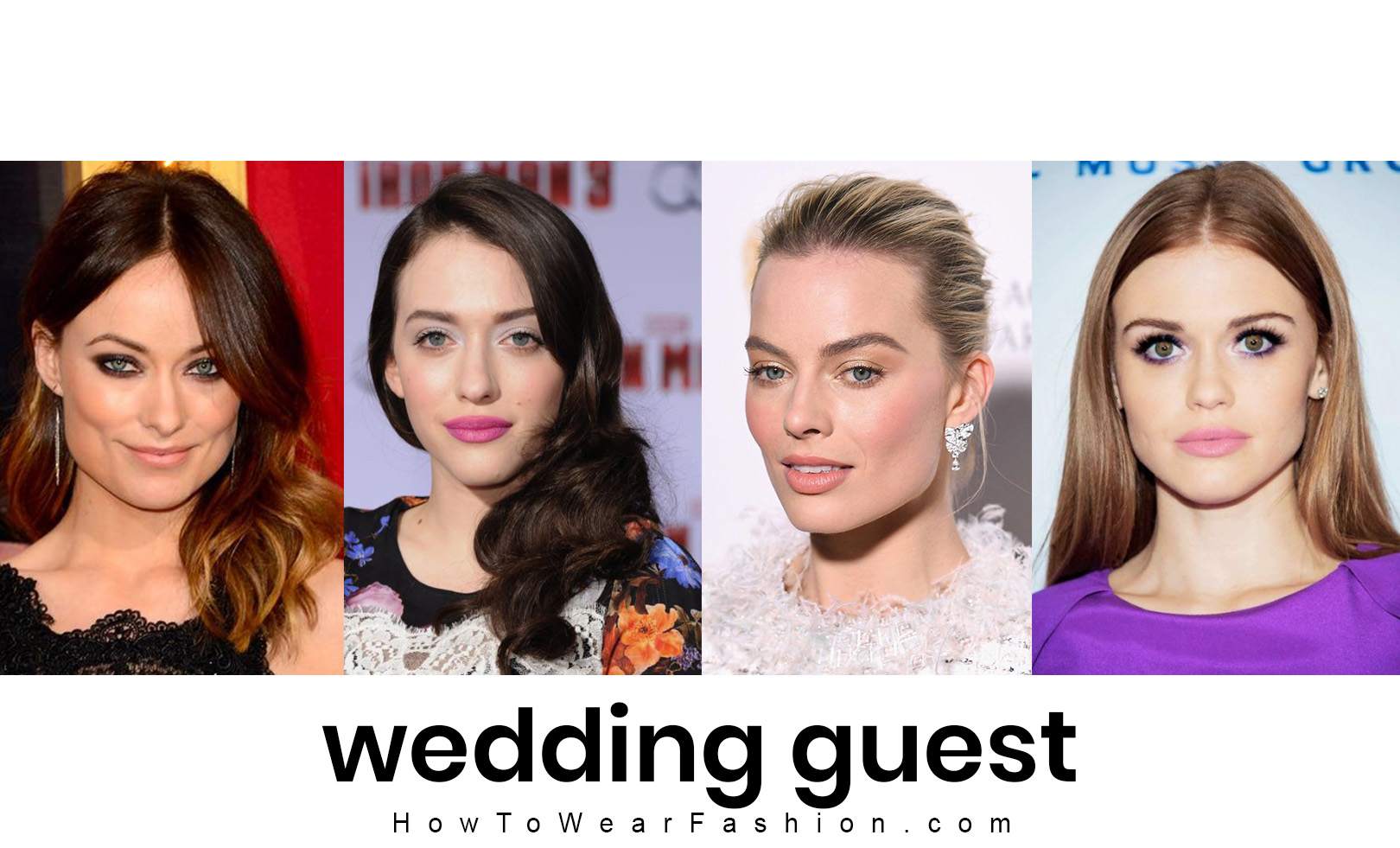 How to do your makeup for attending a wedding - wedding guest makeup ideas!