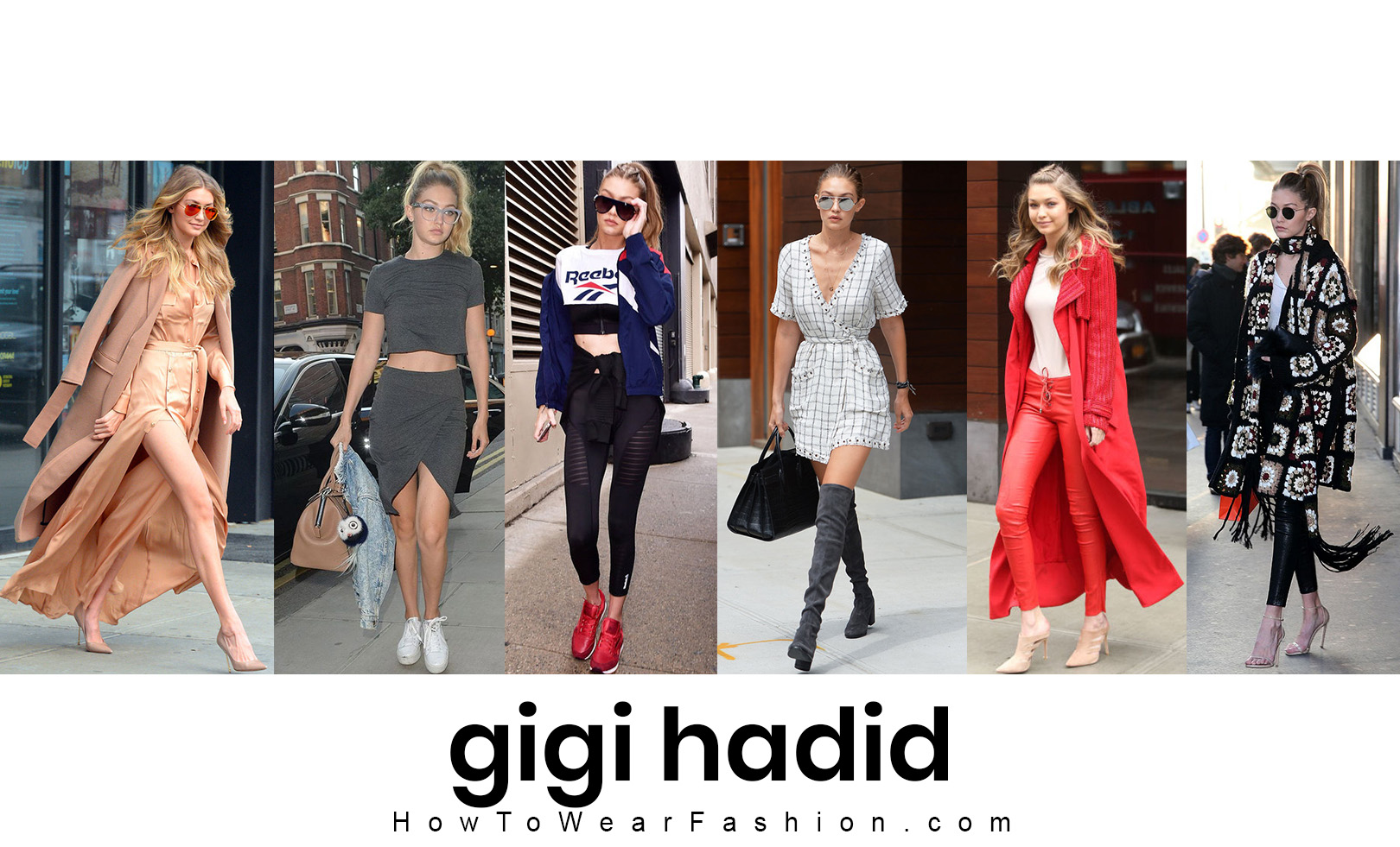 Gigi Hadid's fashion style! See all her best outfit looks here.