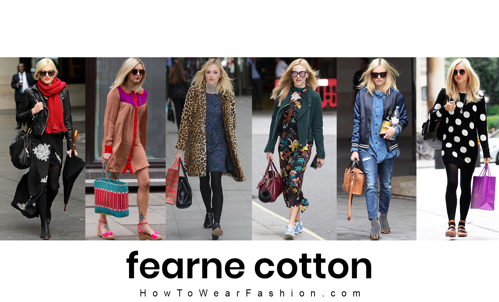 Fearne Cotton's fashion style! See all her best outfit looks here.