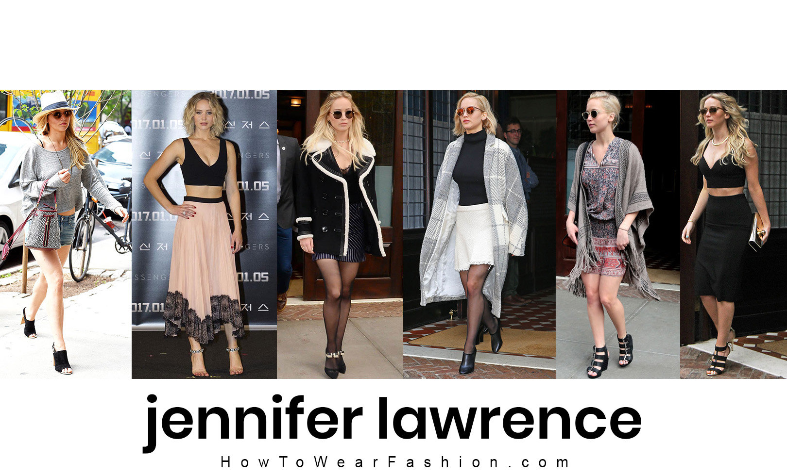 Jennifer Lawrence's fashion style! See all her best outfit looks here.