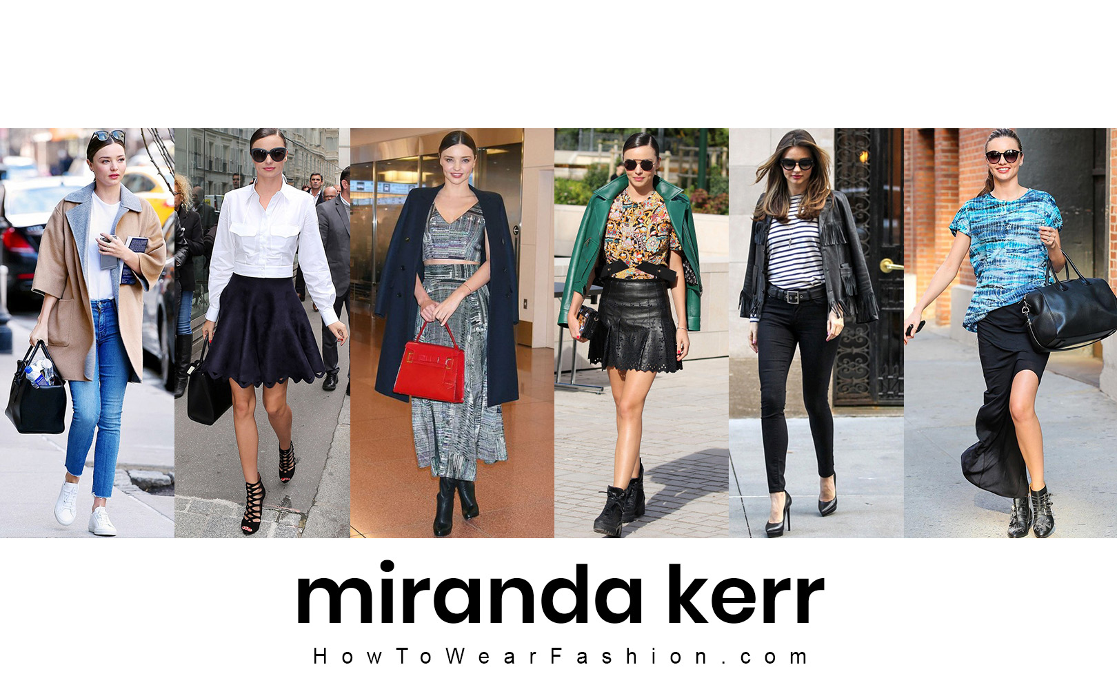 Miranda Kerr's fashion style! See all her best outfit looks here.