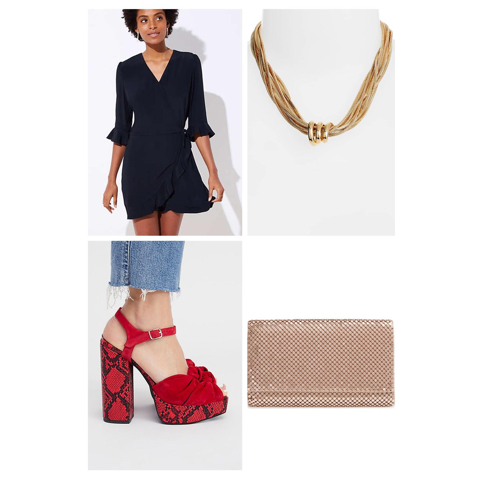 fall-autumn-outfit-dinner-2018-fashion-ideas-black-romper-ruffle-red-snakeskin-sandal-heels-platform-gold-collar-necklace-clutch-dressy-date-night.jpg