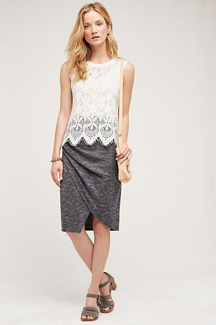 grayd-pencil-skirt-white-top-howtowear-style-fashion-spring-summer-gray-shoe-sandals-studs-tan-bag-drape-blonde-lunch.jpg
