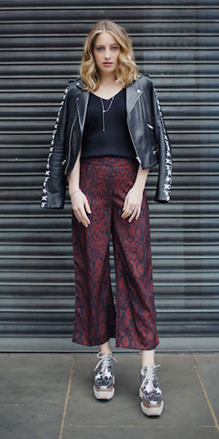 burgundy-culottes-pants-print-black-tee-black-jacket-moto-gray-shoe-brogues-fall-winter-blonde-weekend.jpg