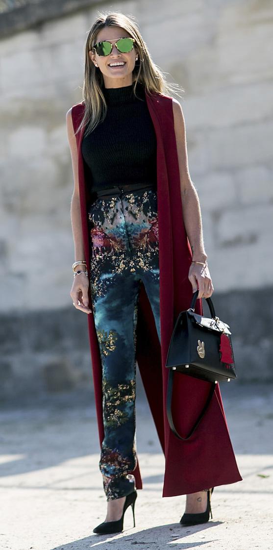 blue-med-slim-pants-print-black-top-burgundy-vest-tailor-maxi-black-bag-blonde-sun-black-shoe-pumps-belt-fall-winter-dinner.jpg