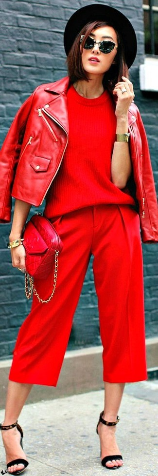red-culottes-pants-red-sweater-mono-red-bag-red-jacket-moto-hat-brun-sun-black-shoe-sandalh-fall-winter-lunch.jpg