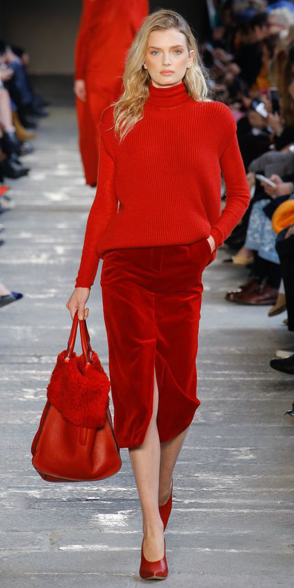 red-midi-skirt-red-sweater-turtleneck-red-bag-red-shoe-pumps-mono-fall-winter-blonde-lunch.jpg