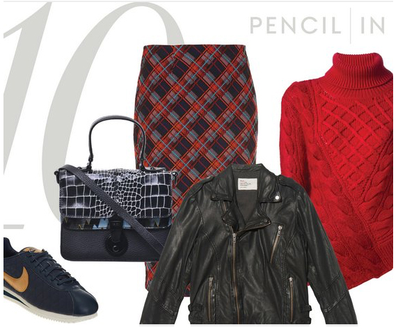 r-burgundy-pencil-skirt-red-sweater-black-jacket-moto-howtowear-fashion-style-outfit-fall-winter-plaid-turtleneck-black-shoe-sneakers-black-bag-dinner.jpg