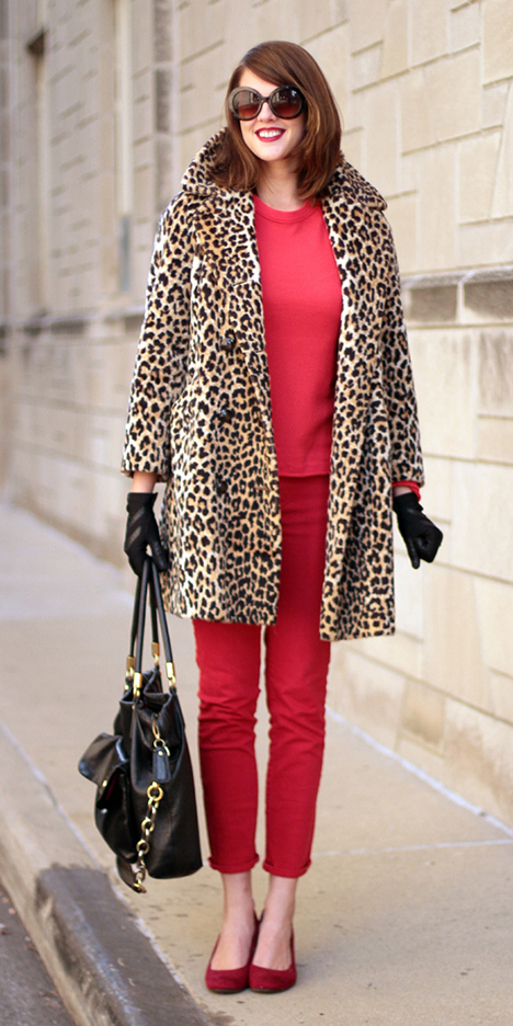 red-skinny-jeans-red-sweater-gloves-black-bag-red-shoe-pumps-sun-leopard-print-tan-jacket-coat-fall-winter-hairr-lunch.jpg