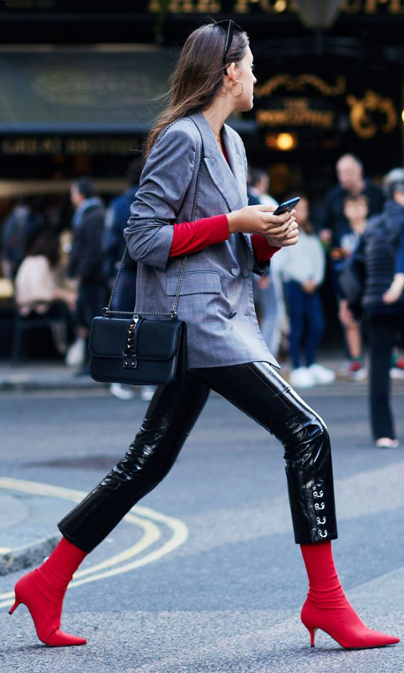 black-slim-pants-red-sweater-grayl-jacket-blazer-hairr-red-shoe-booties-black-bag-fall-winter-lunch.jpg
