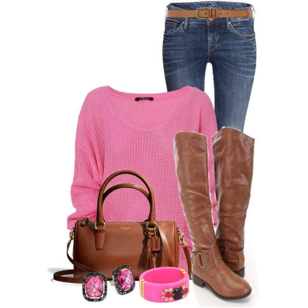 blue-med-skinny-jeans-r-pink-magenta-sweater-cognac-shoe-boots-cognac-bag-studs-bracelet-belt-howtowear-fashion-style-outfit-fall-winter-lunch.jpg