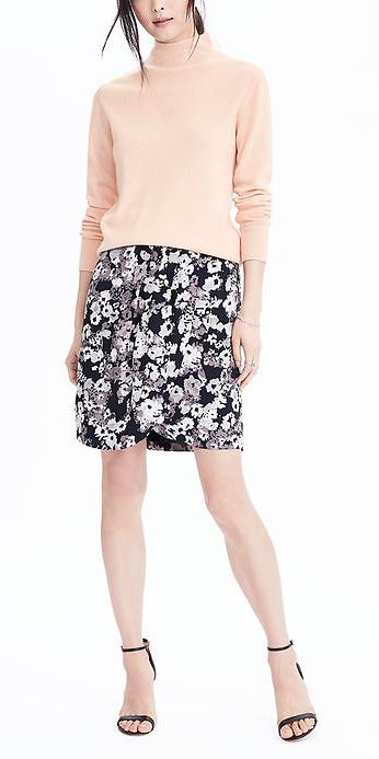 black-mini-skirt-o-peach-sweater-turtleneck-wear-style-fashion-fall-winter-black-shoe-sandalh-floral-blush-work.jpg