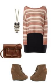 black-pencil-skirt-o-peach-sweater-stripe-tan-shoe-booties-brown-bag-necklace-pend-howtowear-fashion-style-outfit-fall-winter-lunch.jpg