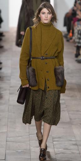 green-olive-midi-skirt-camel-sweater-turtleneck-belt-brown-shoe-booties-camel-cardiganl-fall-winter-hairr-office-work.jpg