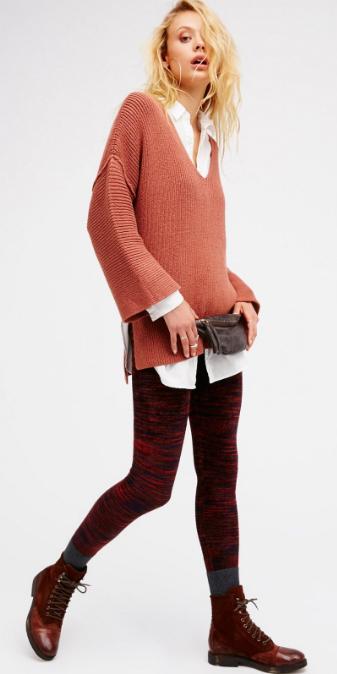 r-burgundy-leggings-white-collared-shirt-orange-sweater-vneck-wear-outfit-fashion-fall-winter-blonde-velvet-burgundy-shoe-booties-lunch.jpg