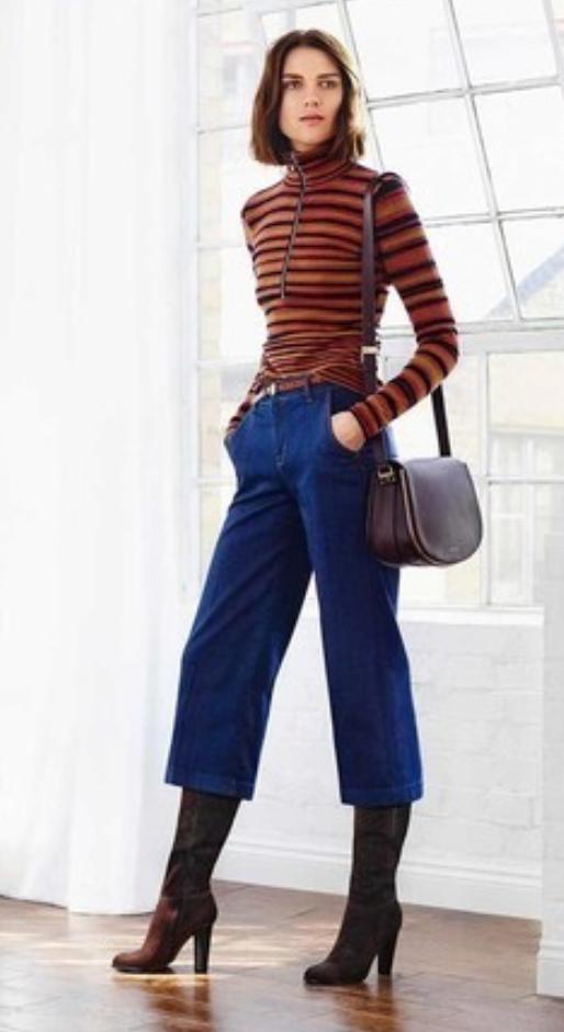 blue-navy-culottes-pants-orange-sweater-stripe-brown-bag-brun-brown-shoe-boots-fall-winter-style-fashion-wear-urbanoutfitters-turtleneck-lunch.jpg