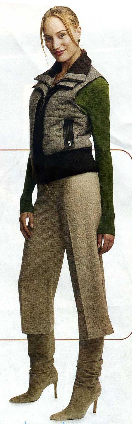 o-tan-culottes-pants-green-olive-sweater-tan-vest-blonde-bun-tan-shoe-boots-fall-winter-tweed-lunch.jpg