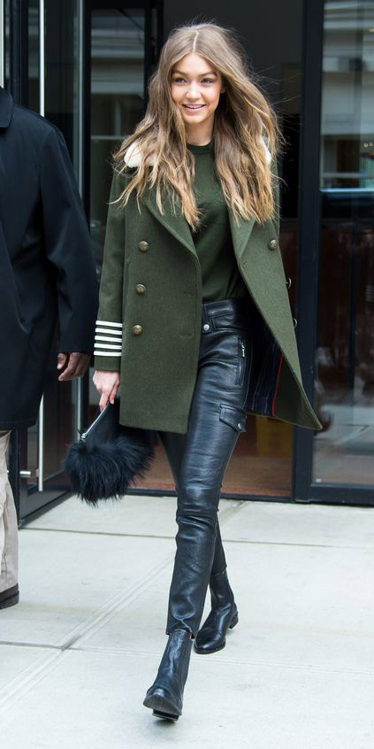 black-skinny-jeans-gigihadid-green-olive-sweater-green-olive-jacket-coat-fall-winter-hairr-lunch.jpg