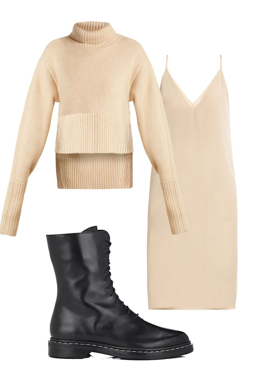white-dress-slip-white-sweater-turtleneck-black-shoe-booties-fall-winter-thanksgiving-outfits-holidays-lunch.jpg