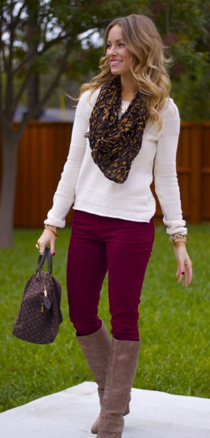r-burgundy-skinny-jeans-white-sweater-brown-scarf-leopard-brown-bag-brown-shoe-boots-howtowear-fashion-style-outfit-fall-winter-hairr-weekend.jpg