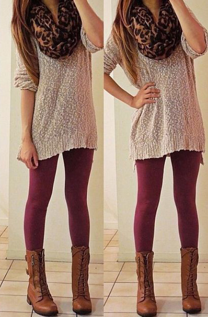 burgundy-leggings-white-sweater-camel-scarf-leopard-print-cognac-shoe-booties-fall-winter-hairr-weekend.jpg