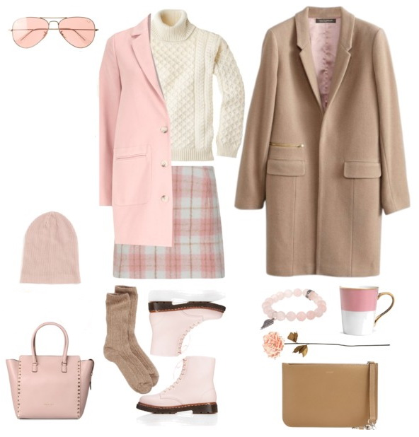 pink-light-mini-skirt-plaid-print-white-sweater-turtleneck-tan-jacket-coat-pink-light-jacket-coat-sun-beanie-socks-pink-shoe-booties-pink-bag-fall-winter-lunch.jpg