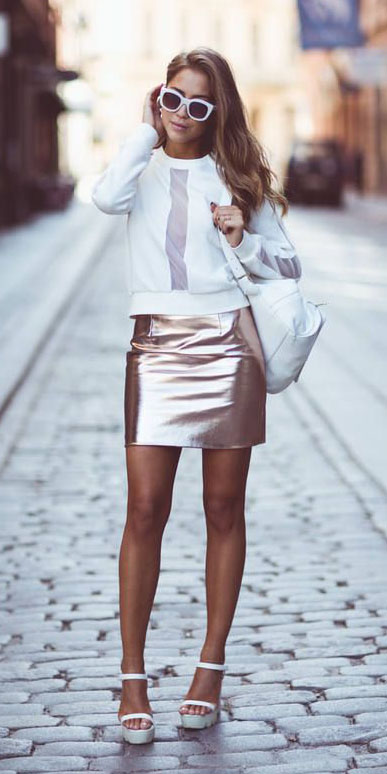 pink-light-mini-skirt-metallic-white-sweater-sweatshirt-white-bag-sun-white-shoe-sandalw-spring-summer-hairr-lunch.jpg