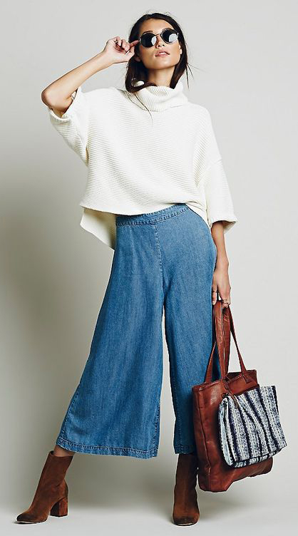 blue-med-culottes-pants-white-sweater-brun-sun-brown-bag-brown-shoe-booties-fall-winter-weekend.jpg