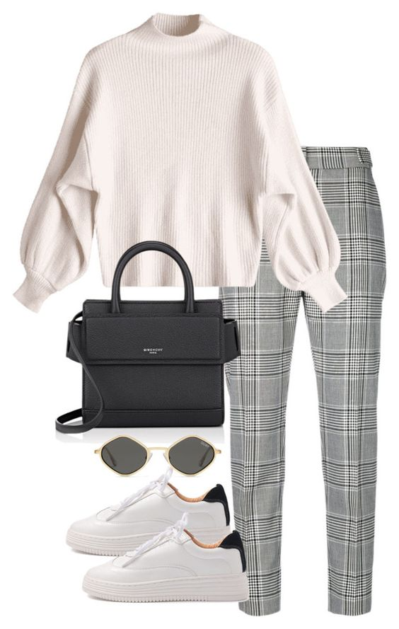 grayl-slim-pants-plaid-white-shoe-sneakers-sun-black-bag-white-sweater-fall-winter-weekend.jpg