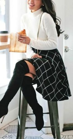 black-aline-skirt-white-sweater-howtowear-fashion-style-outfit-fall-winter-windowpane-turtleneck-knee-black-shoe-boots-asian-brun-work.jpg