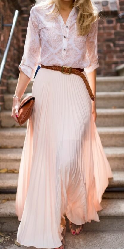 pink-light-maxi-skirt-pink-light-collared-shirt-belt-print-pleated-spring-summer-blonde-lunch.jpg