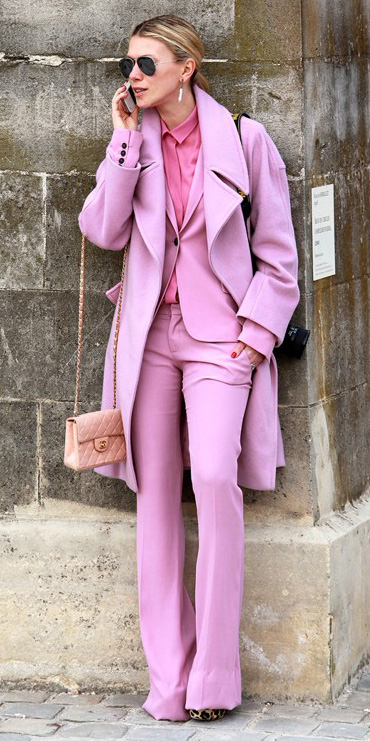 pink-light-wideleg-pants-pink-magenta-collared-shirt-pink-light-jacket-blazer-pink-light-jacket-coat-tonal-layer-blonde-pony-sun-fall-winter-lunch.jpg