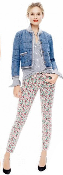 r-pink-light-skinny-jeans-blue-light-collared-shirt-blue-med-jacket-black-shoe-pumps-bun-howtowear-style-fashion-spring-summer-jcrew-blonde-lunch.jpg